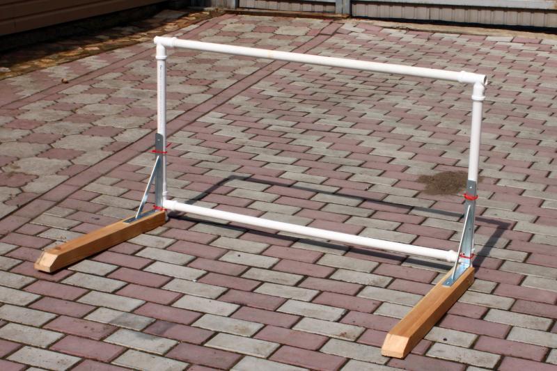 Как сделать барьеры своими руками - Барьеры легкоатлетические